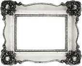 Vintage frame isolated on white — Stock Photo