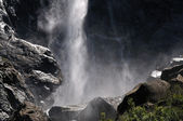 Waterfall at the Yosemite National Park — Stock Photo