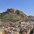 Fortress of Santa Barbara, Alicante, Spain — Stock Photo