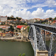 Luis I iron bridge (Porto, Portugal) — Stock Photo #20206001