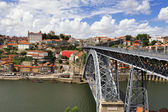 Luis I iron bridge (Porto, Portugal) — Stock Photo