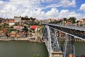 Luis I iron bridge (Porto, Portugal) — Stock Photo