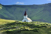 Church at Vik, Iceland — Stock Photo