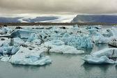 Jokulsarlon Glacier Lake, Iceland — Stock Photo