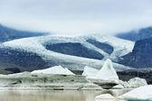 Fjallsarlon glacier lake, Iceland — Stock Photo