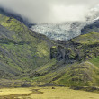 Lanscape of southern Iceland, national park Vatnajokull — Stock Photo