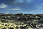 Lava field at Eldhraun — Stock Photo