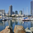 View of yacht harbor — Stock Photo #20995595