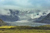Lanscape southern islands nationalpark vatnajokull — Stockfoto