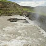Waterfall Gullfoss, Iceland — Stock Photo #21274685