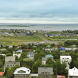 Reykjavik seen from Hallgrimskirkja — Stock Photo #21274769