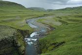 Canyon Fjadrargljufur, Iceland — Stock Photo