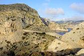 Droga do Przylądka formentor (Majorka, Hiszpania) — Zdjęcie stockowe