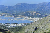 View of the harbor of Port de Pollenca — Stock Photo