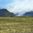 Stock Photo: Lanscape of southern Iceland, national park Vatnajokull