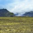 Постер, плакат: Lanscape of southern Iceland national park Vatnajokull
