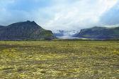 Lanscape of southern Iceland, national park Vatnajokull — Stock Photo
