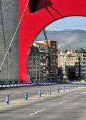 Bridge De La Salve - Bilbao, Basque Country, Spain — Stock Photo