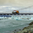 Stock Photo: Jokulsarlon Bridge, Iceland
