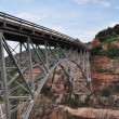 Sedona Red Rocks and bridge — Foto Stock