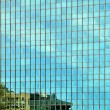 Modern glass facade — Stock Photo