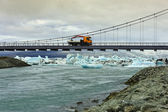 Jokulsarlon Bridge, Iceland — Stockfoto