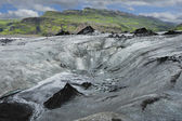 Solheimajokull glacier, Iceland — Stock Photo