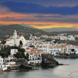 Cadaques with storm sky — Stock Photo #22073505