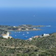 View of Cadaques from mountain (Costa Brava, Catalonia, Spain) — Stock Photo #22073585