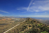 The Valley of a Thousand Palms, Lanzarote, Canary Islands, Spai — Stock Photo