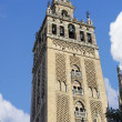Giralda Tower of  the Cathedral of Seville, Seville, Spain — Stock Photo