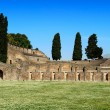 The Quadriportico (Gladiators Barracks), Pompeii — Stock Photo