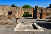 The House of the Tragic Poet, Pompeii — Stock Photo