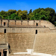 The Large Theatre, Pompeii — Stockfoto