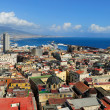 Naples, Vesuvius and port, Italy — Stock Photo #36284027