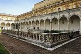 San Martino cartesian monastery, Naples, Italy — Stock Photo