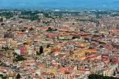 Aerial view of Naples, Italy — Stock Photo