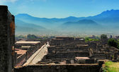 The view of Pompeii — Stock Photo