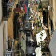 Alley in Naples, Italy — Stock Photo