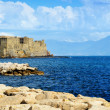 View of coast of Naples, Italy — Stock Photo #38279289