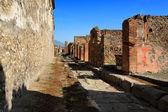 A street of Pompeii, Italy — Stock Photo