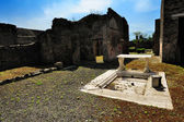 Ruins of roman house, Pompeii — Stockfoto