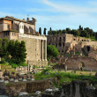 Ruins of Forum of Trajan, Rome — Stock Photo #38662277