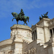 National Monument to Victor Emmanuel II, piazzVenezia, Rome — Stock Photo #38662285
