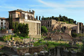 Ruins of the Forum of Trajan, Rome — Stock Photo