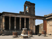 The Tribunal in the Basilica, Pompeii — Stock Photo