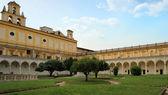 San martino kartesischen kloster, neapel, italien — Stockfoto