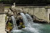 Dolphins Fountain, Caserta Garden — Foto de Stock