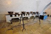 Cozinha no palácio nacional de sintra, portugal — Fotografia Stock