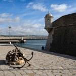 Forte da Ponta da Bandeira, Lagos, Portugal — Stock Photo #47830235